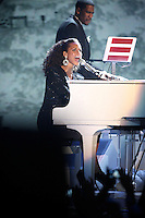 Jay-Z and Alicia Keys duet