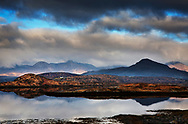 New Year's Day, Connemara, County Galway, Ireland.