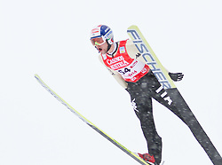 17.12.2011, Casino Arena, Seefeld, AUT, FIS Nordische Kombination, Probedurchgang, Ski Springen, im Bild Alessandro Pittin (ITA) // Alessandro Pittin of Italy during the trial round ski jumping at FIS Nordic Combined World Cup in Sefeld, Austria on 20111211. EXPA Pictures © 2011, PhotoCredit: EXPA/ P.Rinderer