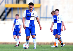 Tom Nichols of Bristol Rovers and his teammates look dejected after conceding a late goal to Hull City - Mandatory by-line: Robbie Stephenson/JMP - 18/07/2017 - FOOTBALL - Estadio da Nora - Albufeira,  - Hull City v Bristol Rovers - Pre-season friendly