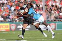 Jerry COLLINS / Paul SACKEY - 09.10.2010 - RC Toulon / Ospreys - Heineken Cup 2010/2011 - Stade Mayol - Toulon - Photo : Etienne Durand / Icon Sport *** Local Caption ***