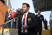 Juan Mata of Manchester United before the Barclays Premier League match between Crystal Palace and Manchester United at Selhurst Park, London, England on 31 October 2015. Photo by Phil Duncan.