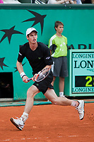 Paris,France andy murray in grand slam french international tennis open of roland garros 2009 from may 22 to 5 th june