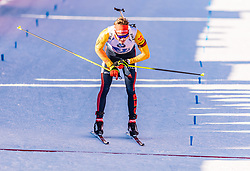 22.02.2020, Suedtirol Arena, Antholz, ITA, IBU Weltmeisterschaften Biathlon, Herren, 4 x 7,5 km Staffel, im Bild Benedikt Doll (GER) // Benedikt Doll of Germany during men's 4 x 7,5 km Relay of IBU Biathlon World Championships 2020 at the Suedtirol Arena in Antholz, Italy on 2020/02/22. EXPA Pictures © 2020, PhotoCredit: EXPA/ Stefan Adelsberger