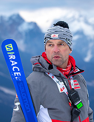 17.01.2019, Olympia delle Tofane, Cortina d Ampezzo, ITA, FIS Weltcup Ski Alpin, Abfahrt, Damen, 1. Training, Streckenbesichtigung, im Bild Mag. Jürgen Kriechbaum (Sportlicher Leiter ÖSV Ski Alpin Damen) // Juergen Kriechbaum Austrian Ski Association head Coach alpine Ladies during the course inspection for the 1st training run in the ladie's Downhill of FIS ski alpine world cup at the Olympia delle Tofane in Cortina d Ampezzo, Italy on 2019/01/17. EXPA Pictures © 2019, PhotoCredit: EXPA/ Johann Groder