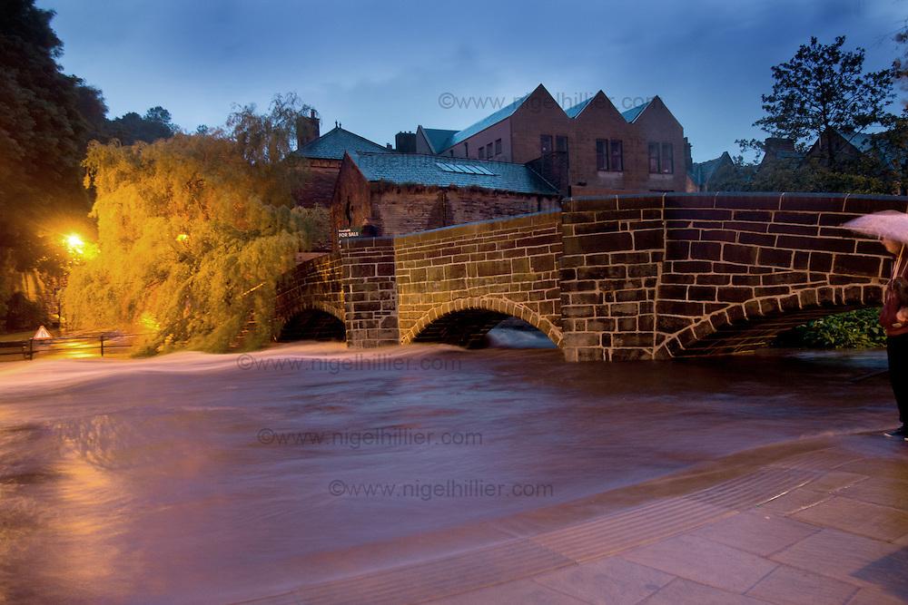 Hebden Bridge,west yorkshire. Flooding 22.6.12