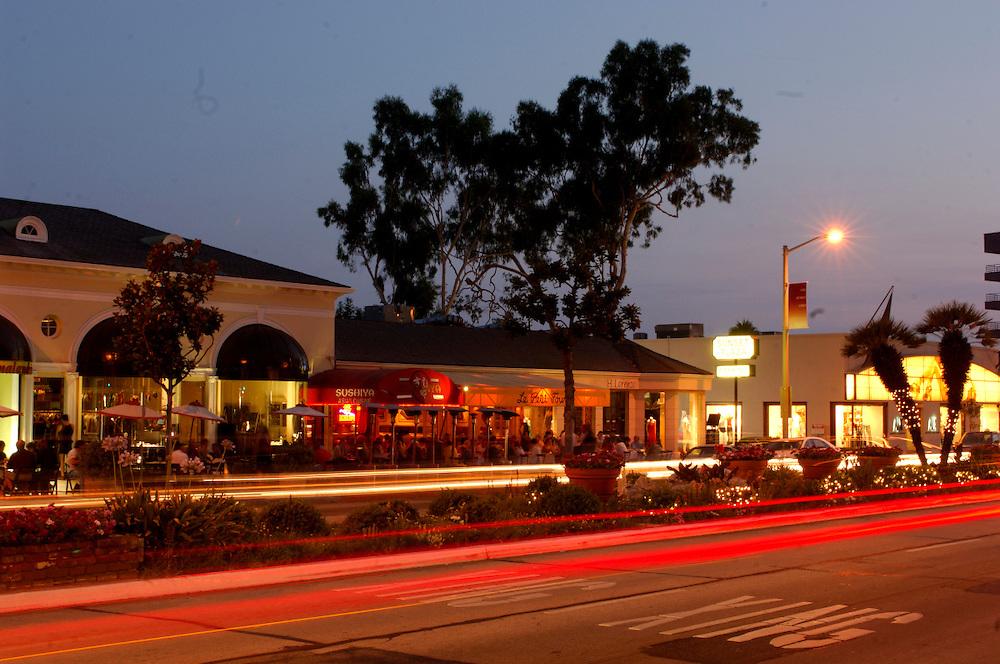 Restaurant, Sunset Boulevard, Hollywood, Los Angeles, California, United States of America