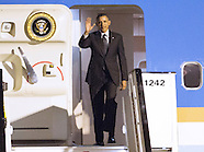 President Barack Obama Arrives In Belgium