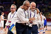 Giordano Consolini, Ettore Messina<br /> Nazionale Italiana Maschile Senior<br /> Eurobasket 2017 - Final Phase - Round of 16<br /> Finlandia Italia Finland Italy<br /> FIP 2017<br /> Istanbul, 09/09/2017<br /> Foto M.Ceretti / Ciamillo - Castoria