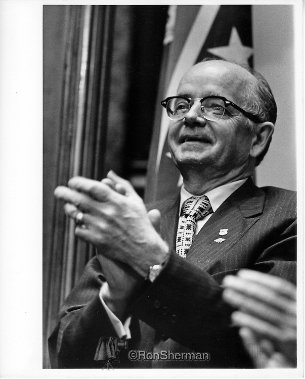 Lester Garfield Maddox, Sr. (September 30, 1915 – June 25, 2003), was an American politician who was the 75th Governor of the U.S. state of Georgia from 1967 to 1971. A populist governor and Democrat, Maddox came to prominence as a staunch segregationist. He served as Lt. Governor from 1971-1975. Carter and Maddox found little common ground during their four years of service, often publicly feuding with each other.