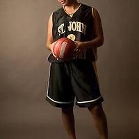 (SPORTS) Neptune 1/15/2003  St. John Vianney's Shantel Brown for upcoming rally sports feature.   Michael J. Treola Staff Photographer.......MJT