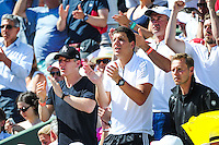 Bastian Schweinsteiger - 04.06.2015 - Jour 12 - Roland Garros 2015<br />Photo : Nolween Le Gouic / Icon Sport