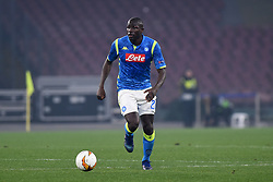 February 21, 2019 - Naples, Naples, Italy - Kalidou Koulibaly of SSC Napoli during the UEFA Europa League Round of 32 Second Leg match between SSC Napoli and FC Zurich at Stadio San Paolo Naples Italy on 21 February 2019. (Credit Image: © Franco Romano/NurPhoto via ZUMA Press)