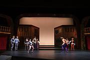 SCU Presents Romeo & Juliet performed at the Mayer Theatre at Santa Clara University in Santa Clara, California, on May 30, 2019. (Stan Olszewski/SOSKIphoto)