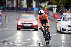 Annemiek van Vleuten (NED) at UCI Road World Championships 2019 Elite Women's TT a 30.3 km individual time trial from Ripon to Harrogate, United Kingdom on September 24, 2019. Photo by Sean Robinson/velofocus.com