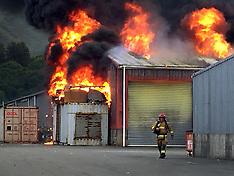 Upper Hutt-Major fire blazes at Acma Industries