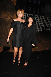 Left to right, actress PATSY PALMER and CHARLOTTE CUTLER at the Berkeley Square End of Summer Ball in aid of the Prince's Trust held in Berkeley Square, London on 27th September 2007.<br />
