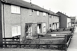Crabtree Farm housing estate, Bulwell, Nottingham UK 1986