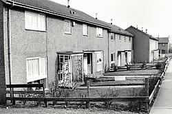 Crabtree Farm housing estate, Bulwell, Nottingham UK 1986