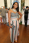 Water Mill, New York:  Sabrina Thompson, Vice Chair, National Board of Diretors, Women in Entertainment Empowerment Network (WEEN) attends the RUSH Philanthropic Arts Foundation 15th Annual Art For Life Benefit Gala held in the Hamptons at the Farmview Farms on July 26, 2014  in Water Mill, New York. (Terrence Jennings)