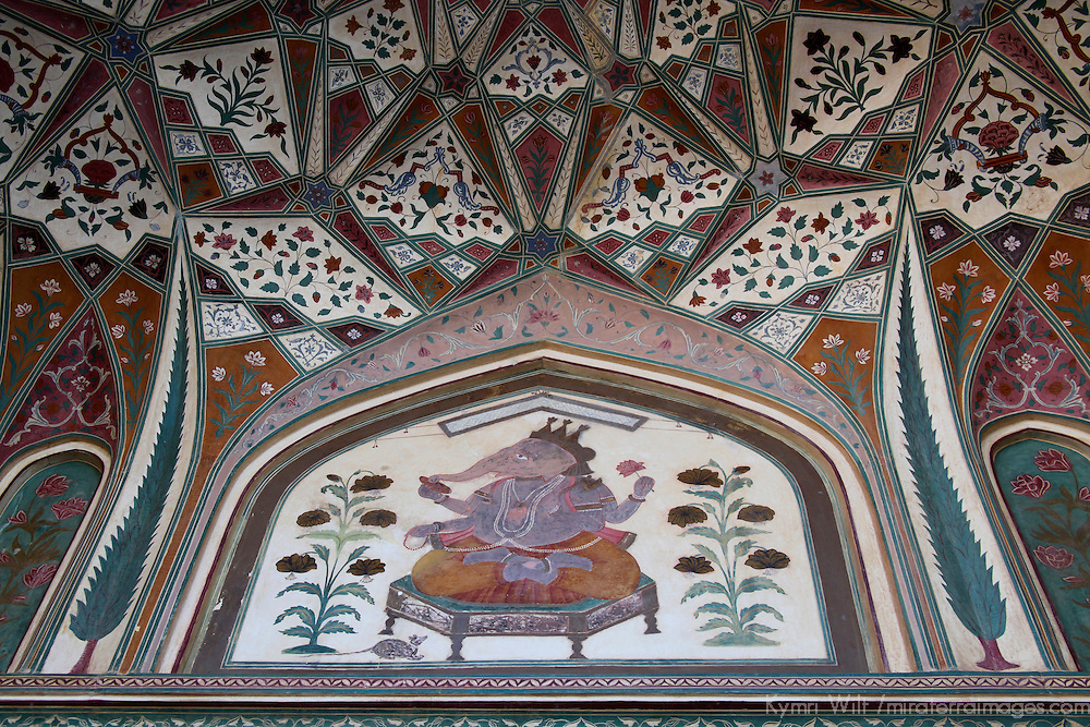 Asia, India, Amer. Ganesh at Amber Palace.