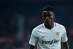 January 16, 2019 - Sevilla, Andalucia, Spain - Quincy Promes of Sevilla FC during the Copa del Rey match between Sevilla FC v Athletic Club at the Ramon Sanchez Pizjuan Stadium on January 16, 2019 in Sevilla, Spain (Photo by Javier Montaño/Pacific Press) (Credit Image: © Javier MontañO/Pacific Press via ZUMA Wire)
