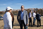 McCarthy Ranch Sprig Center groundbreaking event at McCarthy Ranch in San Jose, California, on November 2, 2018. (Stan Olszewski/SOSKIphoto)