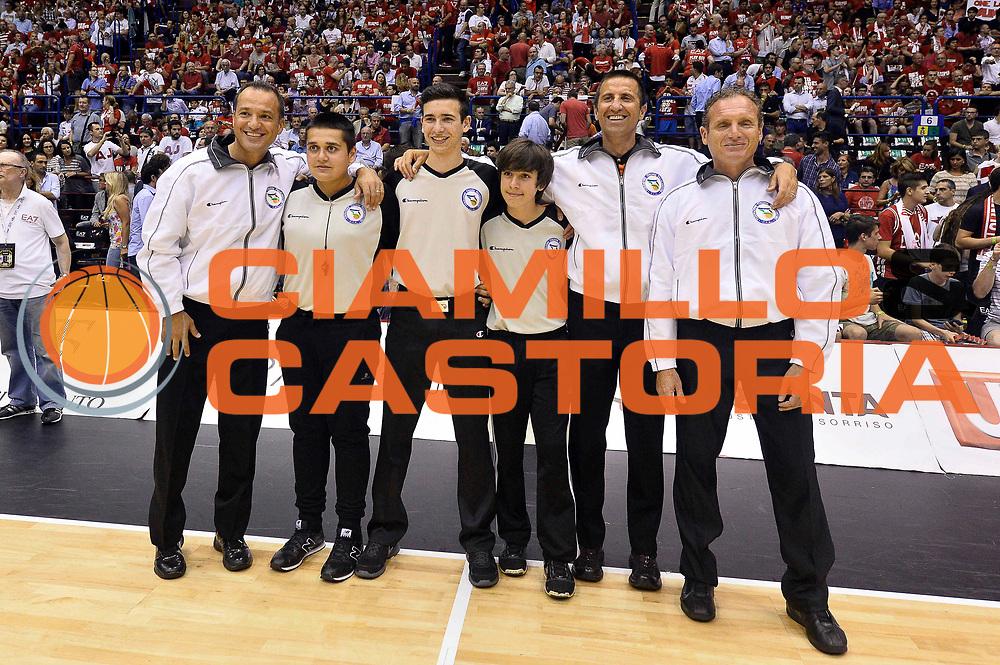 DESCRIZIONE : Milano Lega A 2013-14 EA7 Emporio Armani Milano vs Montepaschi Siena playoff Finale gara 5<br /> GIOCATORE : Arbitro<br /> CATEGORIA : Arbitro<br /> SQUADRA : Arbitro<br /> EVENTO : Finale gara 5 playoff<br /> GARA : EA7 Emporio Armani Milano vs Montepaschi Siena playoff Finale gara 5<br /> DATA : 23/06/2014<br /> SPORT : Pallacanestro <br /> AUTORE : Agenzia Ciamillo-Castoria/GiulioCiamillo<br /> Galleria : Lega Basket A 2013-2014  <br /> Fotonotizia : Milano Lega A 2013-14 EA7 Emporio Armani Milano vs Montepaschi Siena playoff Finale gara 5<br /> Predefinita :