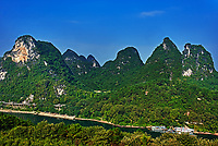 Li river, near Yangshuo in Guangxi province  China