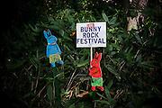 Naeba, July 2012 - Fuji Rock festival. Bunny rock festival.