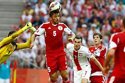 13.06.2015, Nationalstadion, Warschau, POL, UEFA Euro 2016 Qualifikation, Polen vs Greorgien, Gruppe D, im Bild arkadiuisz milik // during the UEFA EURO 2016 qualifier group D match between Poland and Greorgia at the Nationalstadion in Warschau, Poland on 2015/06/13. EXPA Pictures © 2015, PhotoCredit: EXPA/ Pixsell/ FOT. ARTUR PODLEWSKI / 058sport.pl<br /> <br /> *****ATTENTION - for AUT, SLO, SUI, SWE, ITA, FRA only*****