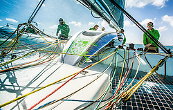 "MOD 70 "" Phaedo^3 ""  Saint Marteen, March 2015 , Heineken Regatta"