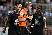Lawrence Visser pictured during the Jupiler Pro League matchday 4 between Kas Eupen and Kaa Gent on August 19, 2018 in Eupen, Belgium, Photo by David Hagemann /Isosport / Pro Shots / ProSportsImages / DPPI