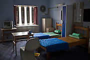 The first night  (4 person) dorm at HMP Holloway, the main womens prison in London.