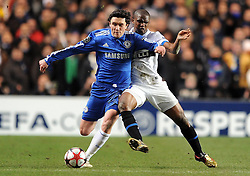 16-03-2010 VOETBAL: CHELSEA FC  - INTER MILAAN : LONDON<br /> Chelsea s Yuri Zhirkov and Inter Milan s Samuel Eto o<br /> ©2010- nph /  Chris Brunskill