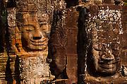 face towers,bayon, angkor, cambodia