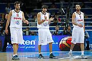 DESCRIZIONE : Kaunas Lithuania Lituania Eurobasket Men 2011 Quarter Final Round Spagna Slovenia Spain Slovenia<br /> GIOCATORE : Ricky Rubio Juan Carlos Navarro Fernando San Emeterio<br /> CATEGORIA : esultanza<br /> SQUADRA : Spagna Slovenia Spain Slovenia<br /> EVENTO : Eurobasket Men 2011<br /> GARA : Spagna Slovenia Spain Slovenia<br /> DATA : 14/09/2011<br /> SPORT : Pallacanestro <br /> AUTORE : Agenzia Ciamillo-Castoria/M.Metlas<br /> Galleria : Eurobasket Men 2011<br /> Fotonotizia : Kaunas Lithuania Lituania Eurobasket Men 2011 Quarter Final Round Spagna Slovenia Spain Slovenia<br /> Predefinita :