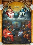 Glorification of the Eucharist by Ventura Salimbeni  1600