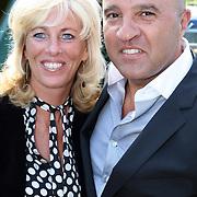 NLD/Laren/20070829 - Huwelijk Willibrord Frequin en Susanne Rastin, John van den Heuvel en partner Mariette van Schie