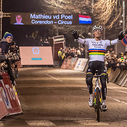 2019-12-29: Cycling: Superprestige: Diegem: Come day, come night , Mathieu van der Poel is unstopable