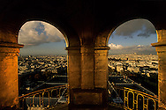 France. Paris. elevated view.view from the dome of the invalid church,