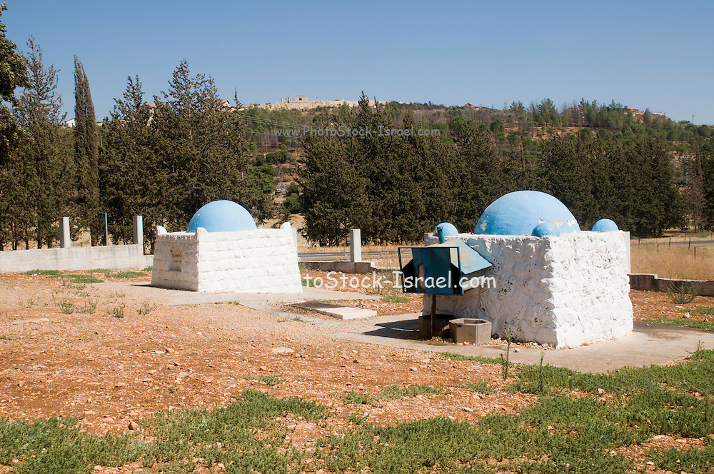 Israel, Lower Galilee, the tomb of Rabbi Aba Halafta,