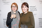 MARIE MOES; CATHERINE BIASINO, Wallpaper  Design Awards in partner ship with aSton Martin. The Edison, 223-231 Old Marylebone Road, London. 12 January 2011. . This year it is in partnership with Aston Martin.-DO NOT ARCHIVE-© Copyright Photograph by Dafydd Jones. 248 Clapham Rd. London SW9 0PZ. Tel 0207 820 0771. www.dafjones.com.