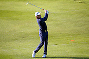 English golf professional Eddie Pepperell  during the BMW PGA Championship at the Wentworth Club, Virginia Water, United Kingdom on 26 May 2016. Photo by Simon Davies.
