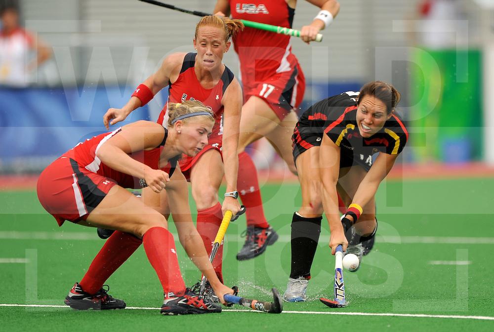 Beijing Olympic Green Hockey Stadium - Hockey.USA v Germany  Women 2-4.Maike Stöckel.wsp@frank uijlenbroek.