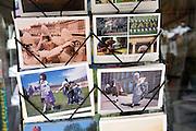 Picture postcards display rack, Bath