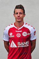 Yann Benedick - 21.10.2014 - Photo officielle Reims - Ligue 1 2014/2015<br /> Photo : Philippe Le Brech / Icon Sport