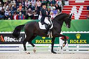 Kristina Sprehe - Desperados FRH<br /> Alltech FEI World Equestrian Games™ 2014 - Normandy, France.<br /> © DigiShots