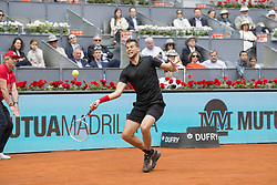 May 12, 2018 - Madrid, Madrid, Spain - DOMINIC THIEM in a match against KEVIN ANDERSON during the semi finals of Mutua Madrid Open 2018 - ATP in Madrid. DOMINIC THIEM won the match 6-4 6-2. (Credit Image: © Patricia Rodrigues via ZUMA Wire)