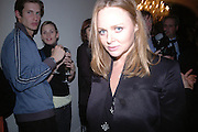 STELLA MCCARTNEY. Launch of Stella McCartney collaboration with H & M. St. Olaves. Tooley St. London SE1. 25 October 2005. October 2005. ONE TIME USE ONLY - DO NOT ARCHIVE © Copyright Photograph by Dafydd Jones 66 Stockwell Park Rd. London SW9 0DA Tel 020 7733 0108 www.dafjones.com